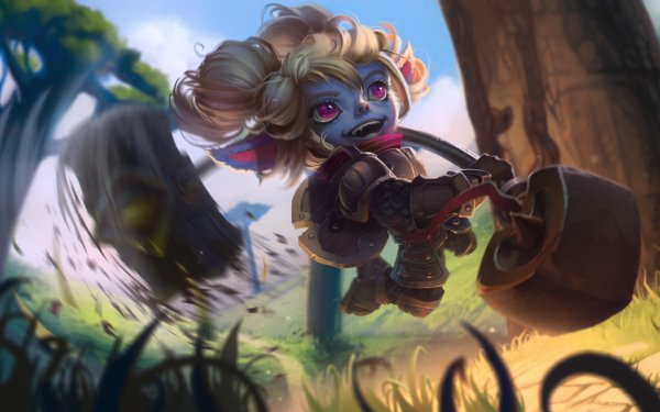 Video Game League Of Legends Poppy HD Wallpaper | Background Image