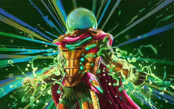 Movie Spider-Man: Far From Home Spider-Man Mysterio Marvel Comics HD Wallpaper   Background Image