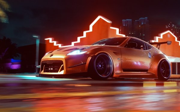 Video Game Need for Speed Heat Need for Speed Nissan 370Z Need For Speed Race Car HD Wallpaper | Background Image
