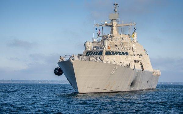 Military United States Navy Warships USS Indianapolis Warship Coastal Defence Ship HD Wallpaper | Background Image