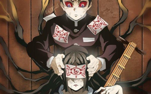 Anime Demon Slayer: Kimetsu no Yaiba Yushiro Nakime Fondo de pantalla HD | Fondo de Escritorio