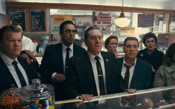 Movie The Irishman Robert De Niro Jesse Plemons Ray Romano Al Pacino HD Wallpaper | Background Image