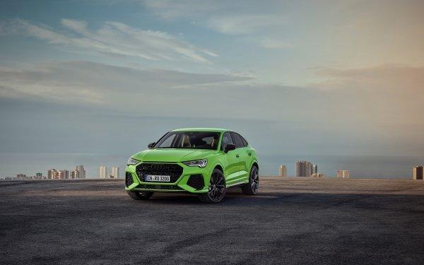 Vehicles Audi Q3 Audi Car Green Car SUV Luxury Car HD Wallpaper | Background Image