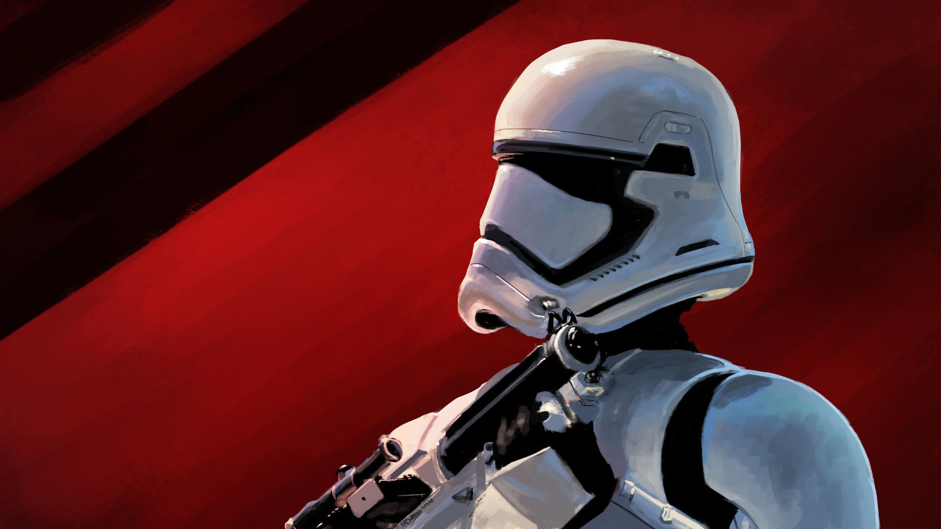 First Order Stormtrooper Hd Wallpaper Background Image 1920x1080 Id 1064309 Wallpaper Abyss