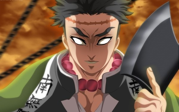 Anime Demon Slayer: Kimetsu no Yaiba Gyomei Himejima Fondo de pantalla HD   Fondo de Escritorio