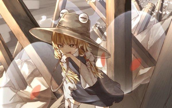 Anime Touhou Suwako Moriya HD Wallpaper | Background Image