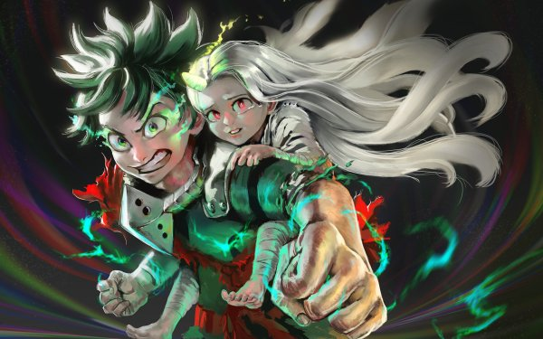 Anime My Hero Academia Izuku Midoriya Eri HD Wallpaper | Background Image