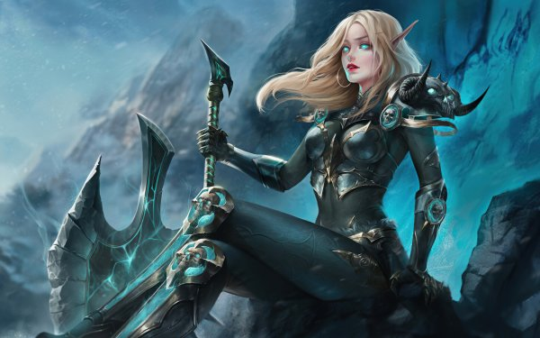 Fantasy Women Warrior Woman Elf Woman Warrior HD Wallpaper | Background Image