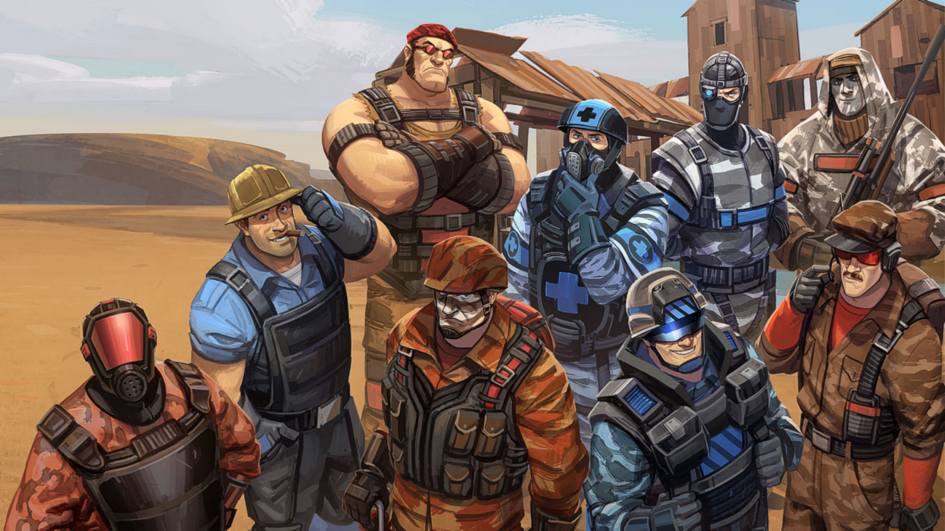 team fortress 2 classic wallpaper