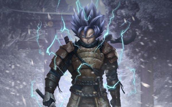 Anime Dragon Ball Goku Samurai HD Wallpaper   Background Image