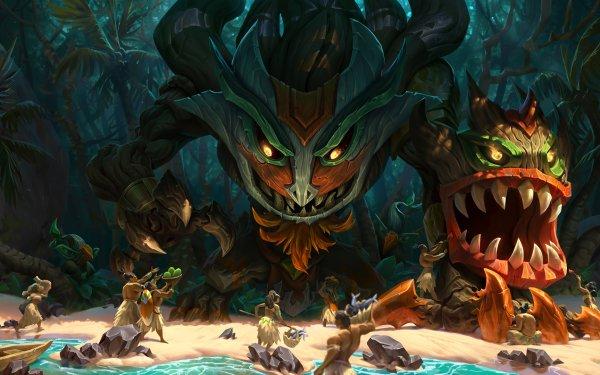 Videojuego League Of Legends Maokai Fondo de pantalla HD | Fondo de Escritorio