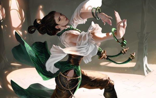 Video Game Legends of Runeterra Woman HD Wallpaper | Background Image