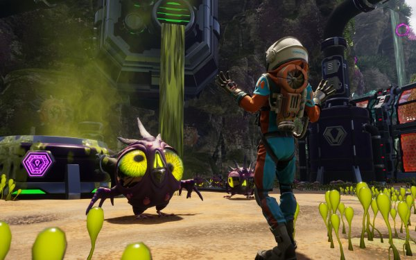 Video Game Journey to the Savage Planet HD Wallpaper | Background Image
