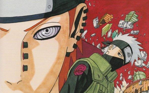 Anime Naruto Pain Kakashi Hatake HD Wallpaper | Hintergrund