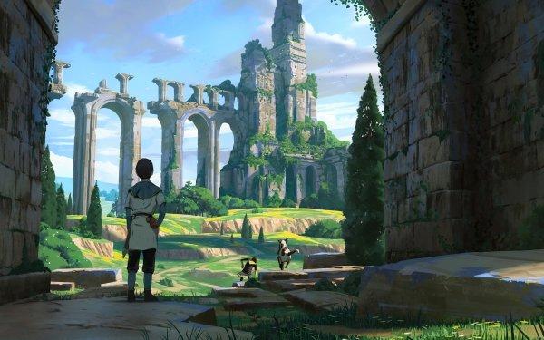 Fantasy Child Ruin HD Wallpaper | Background Image