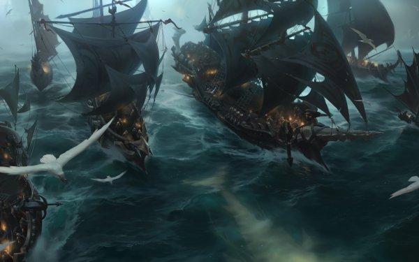 Video Game Legends of Runeterra Bilgewater HD Wallpaper | Background Image