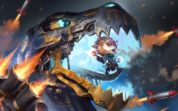 Video Game Legends of Runeterra Heimerdinger HD Wallpaper | Background Image