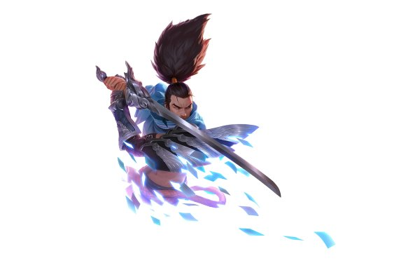 Video Game Legends of Runeterra Yasuo HD Wallpaper   Background Image