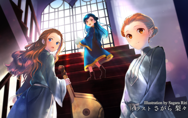 Anime Ascendance of a Bookworm Myne HD Wallpaper | Background Image