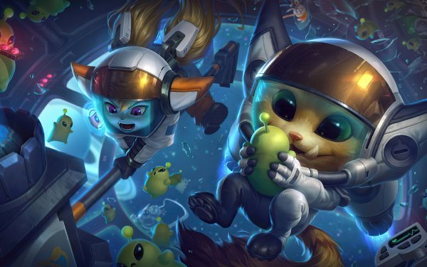 Video Game League Of Legends Gnar Poppy HD Wallpaper | Background Image