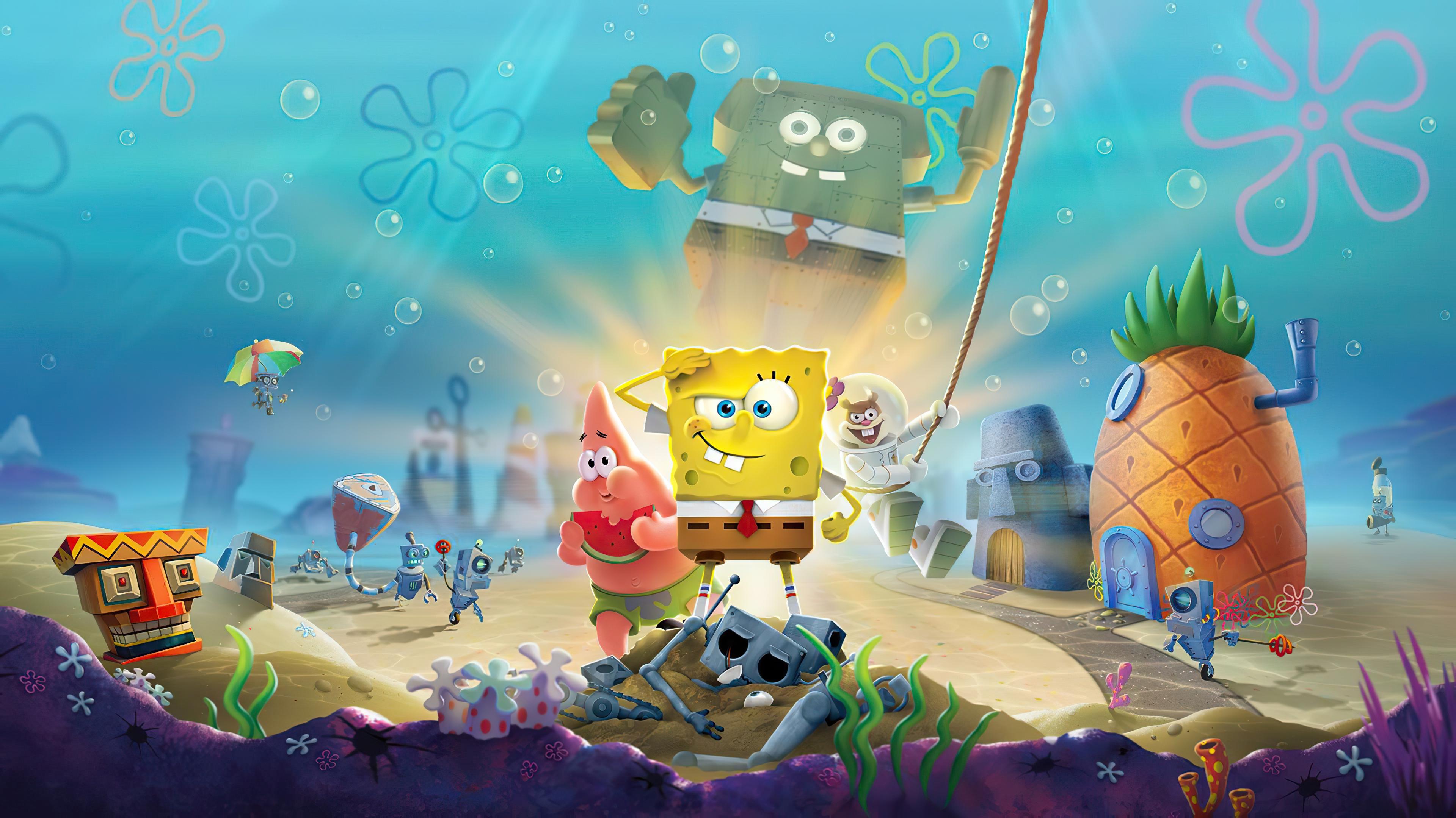 Spongebob Squarepants Zoom Background