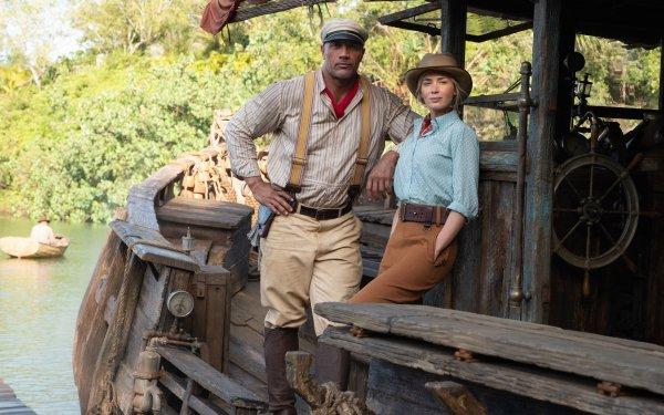 Movie Jungle Cruise Dwayne Johnson Emily Blunt HD Wallpaper   Background Image