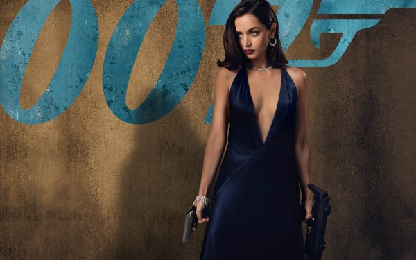 Movie No Time to Die James Bond Ana de Armas Cuban Actress Brunette Paloma HD Wallpaper | Background Image