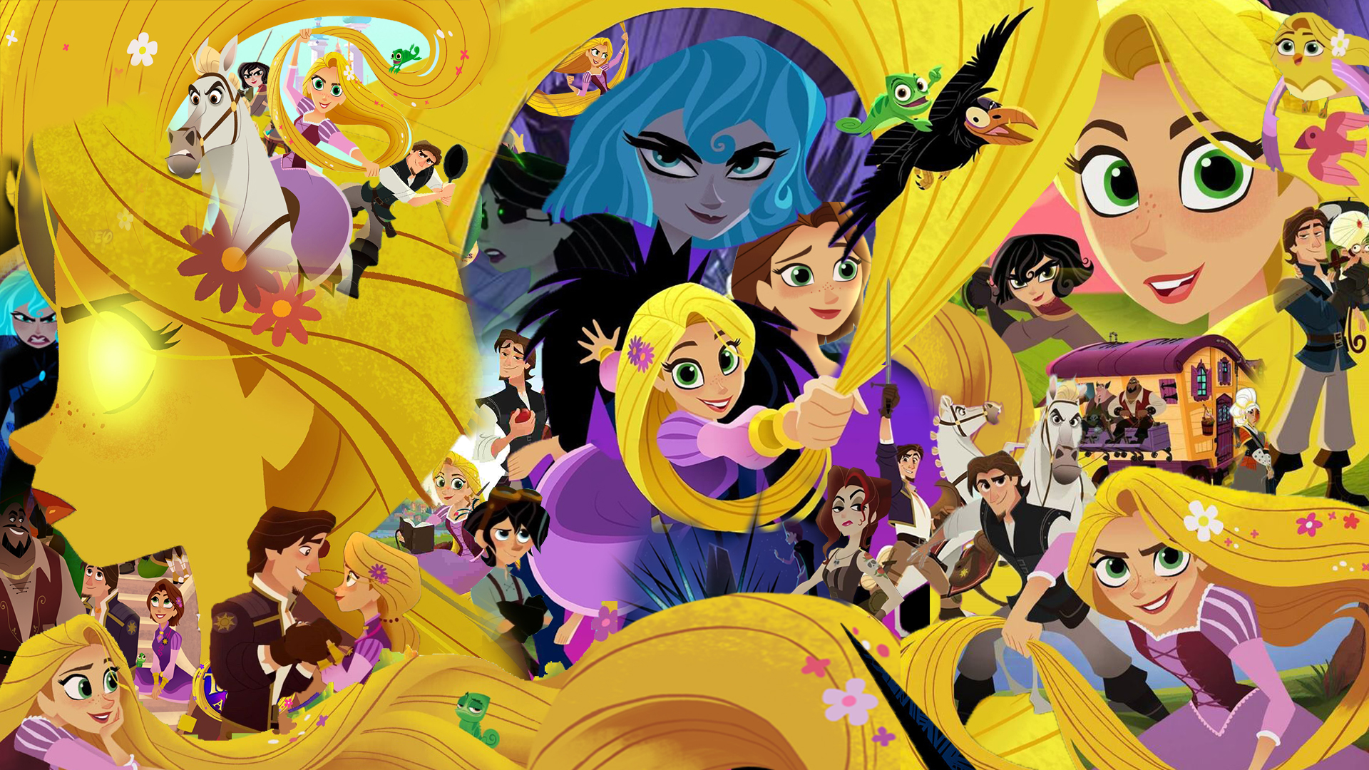 Tangled Series Wallpaper Hd Wallpaper Background Image 1920x1080 Id 1097066 Wallpaper Abyss