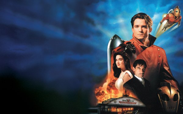 Movie The Rocketeer Jennifer Connelly Timothy Dalton HD Wallpaper   Background Image