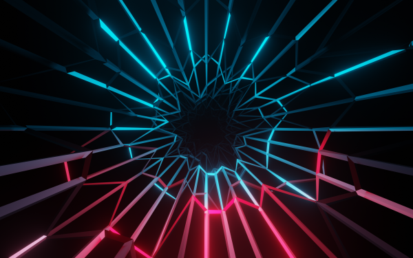 Abstract Electric Glow HD Wallpaper | Background Image