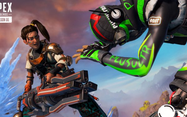 Video Game Apex Legends Rampart HD Wallpaper | Background Image
