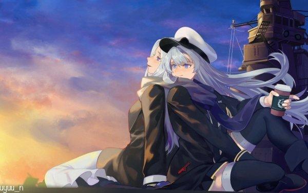 Anime Azur Lane Enterprise Yorktown HD Wallpaper | Background Image