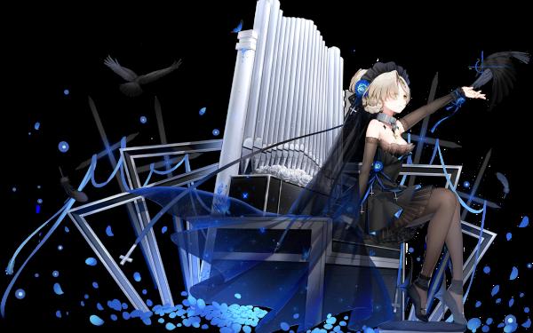 Anime Azur Lane Sheffield HD Wallpaper   Background Image