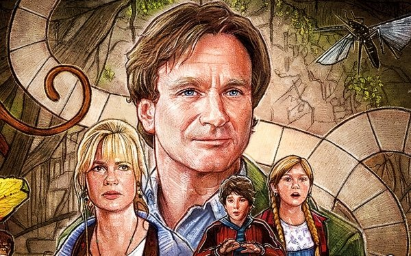 Movie Jumanji Robin Williams Kirsten Dunst HD Wallpaper | Background Image