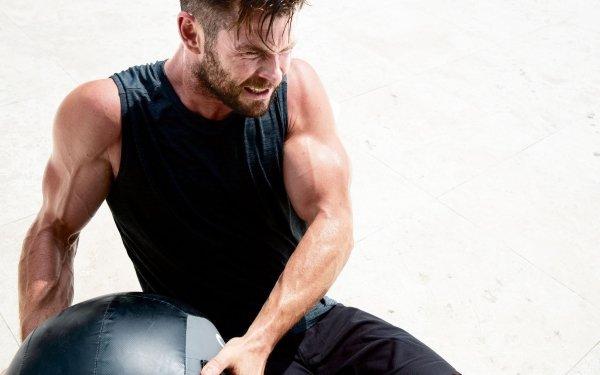 Celebrity Chris Hemsworth Actors Australia Actor Australian Fitness HD Wallpaper | Background Image