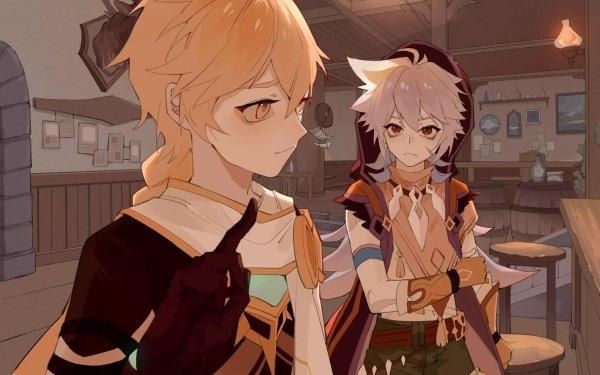 Video Game Genshin Impact Razor Aether HD Wallpaper | Background Image