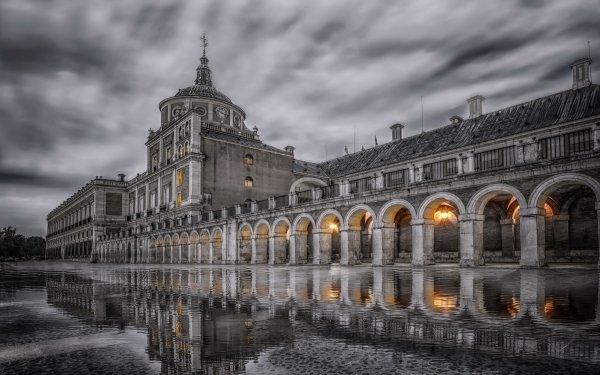 Man Made Palace Palaces Madrid Spain Royal Palace of Madrid HD Wallpaper   Background Image