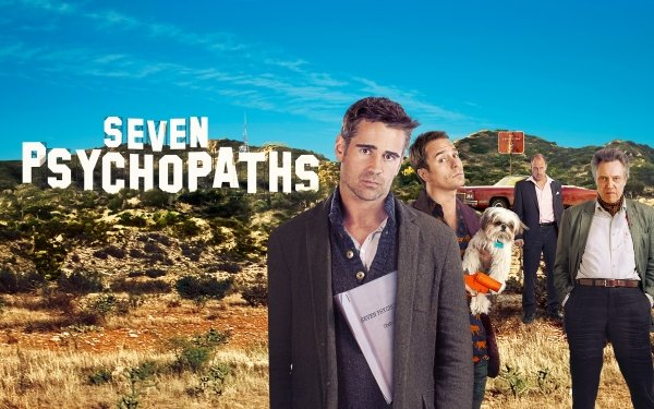 Movie Seven Psychopaths Sam Rockwell Christopher Walken Colin Farrell Woody Harrelson HD Wallpaper   Background Image