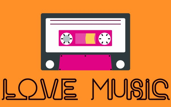 Music Artistic Cassette HD Wallpaper | Background Image