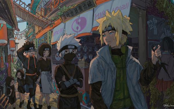 Anime Naruto Naruto Uzumaki Kakashi Hatake HD Wallpaper | Hintergrund