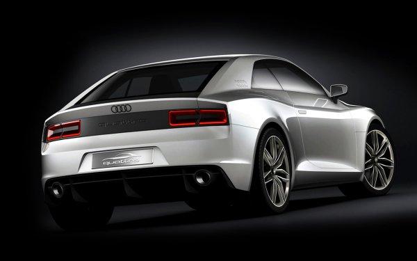 Vehicles Audi Quattro Audi Concept Car Compact Car Luxury Car Coupé White Car Car HD Wallpaper   Background Image