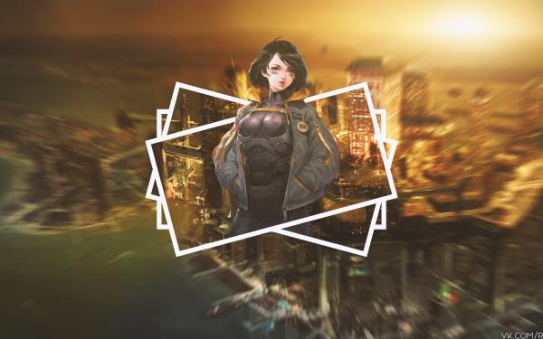 Anime Battle Angel Alita Alita: Battle Angel Alita HD Wallpaper | Background Image