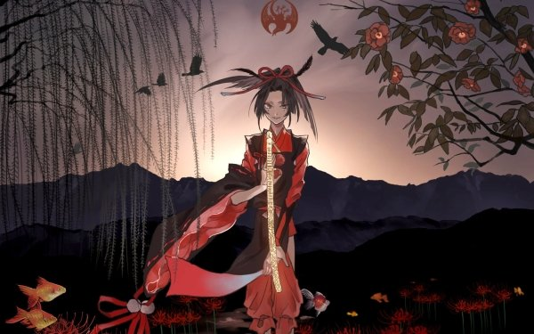 Anime Touken Ranbu Kogarasumaru HD Wallpaper   Background Image