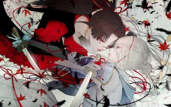 Anime Touken Ranbu Imanotsurugi Kogarasumaru HD Wallpaper | Background Image