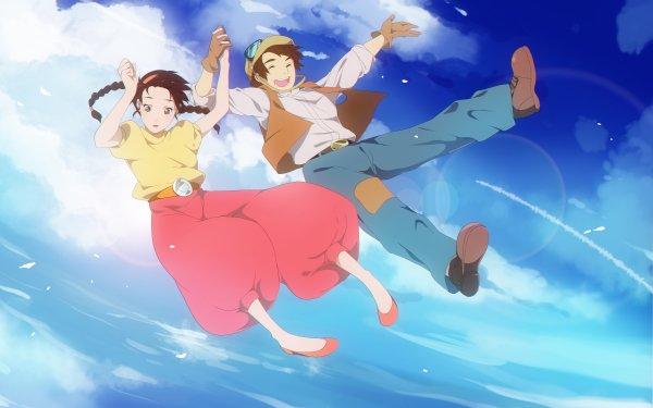 Anime Laputa: Castle in the Sky Pazu Sheeta HD Wallpaper | Background Image