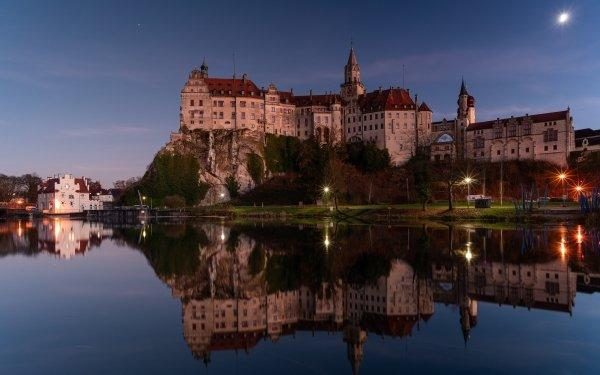 Man Made Sigmaringen Castle Castles Germany Reflection Castle HD Wallpaper | Background Image