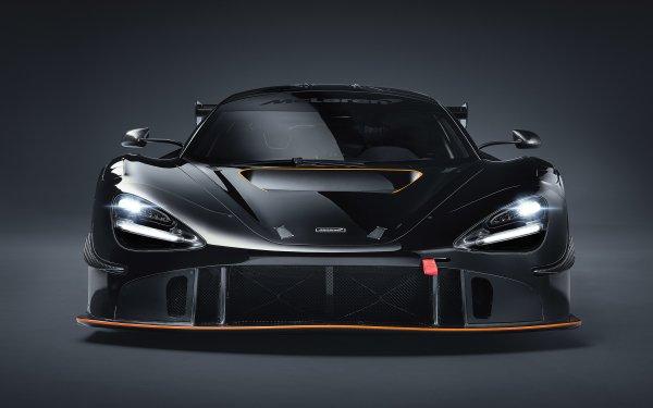 Vehicles McLaren 720S GT3 McLaren McLaren 720S Car Black Car Sport Car Supercar HD Wallpaper | Background Image