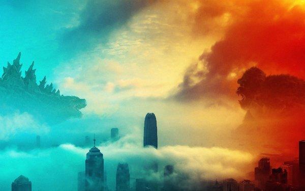 Movie Godzilla vs Kong Godzilla King Kong HD Wallpaper | Background Image