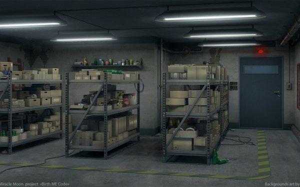 Anime Room Shelf HD Wallpaper | Background Image