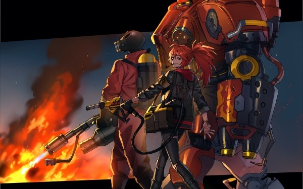 Video Game Crossover Black Survival Starcraft Team Fortress 2 HD Wallpaper   Background Image
